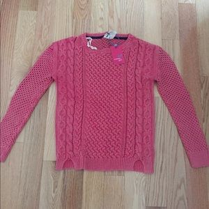 Tommy girl pink sweater